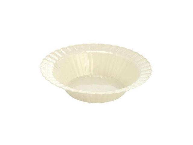 Resposable 12 oz Bowl Bone Pack Of 18
