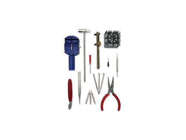 16-Piece Deluxe Watch Repair Tool Kit