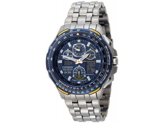 Citizen Blue Angels Skyhawk A-T Mens Watch JY0050-55L