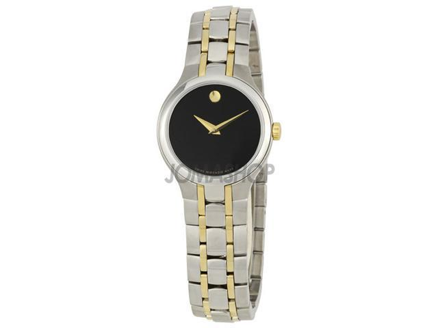 Movado Portfolio Two-tone Stainless Steel Watch 0606372
