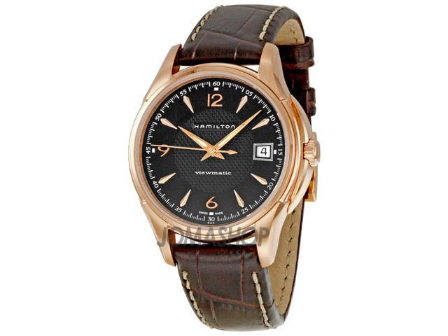 Hamilton American Classic Jazzmaster Black Dial Mens Watch H32445585