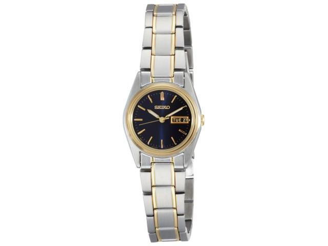 Seiko Two-Tone Ladies Bracelet Watch SXA120