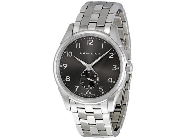 Hamilton Jazzmaster Thinline Charcoal Dial Men's watch #H38411183
