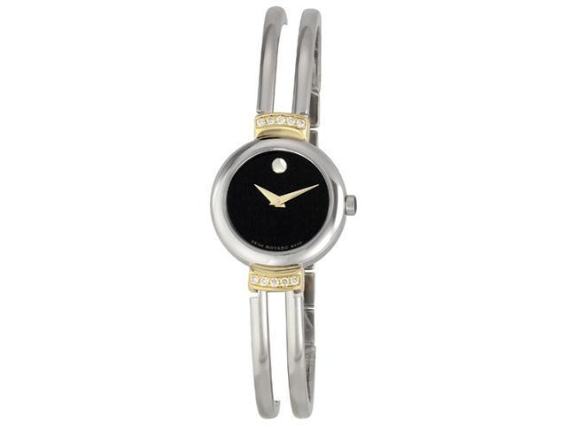 Movado Harmony Two Tone Stainless Steel Diamond Watch 0606240