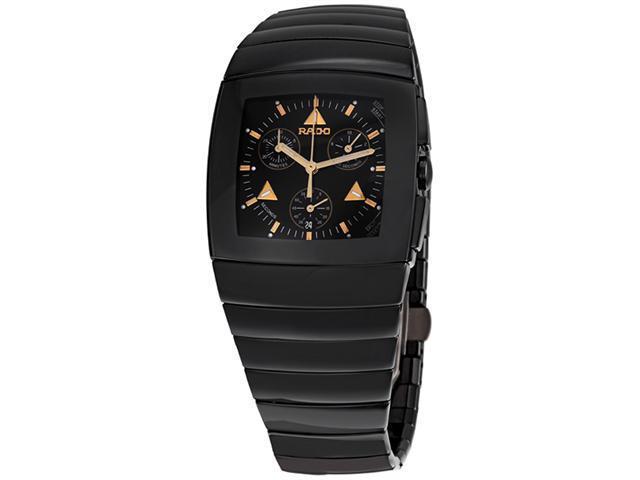 Rado Sintra Black Ceramic Chronograph Mens Watch R13477182