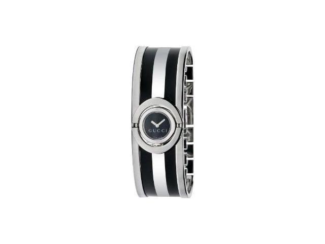 Gucci 112 Twirl Black Watch YA112516