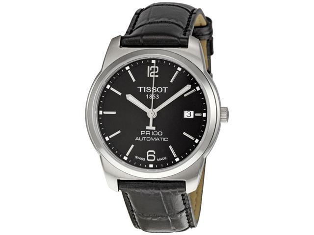 Tissot PR100 Black Dial Automatic Mens Watch T0494071605700
