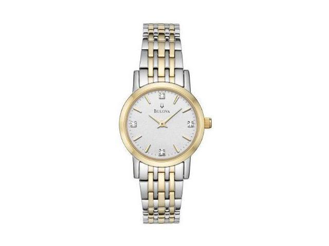 Bulova Casual Diamonds Ladies Watch 98P115