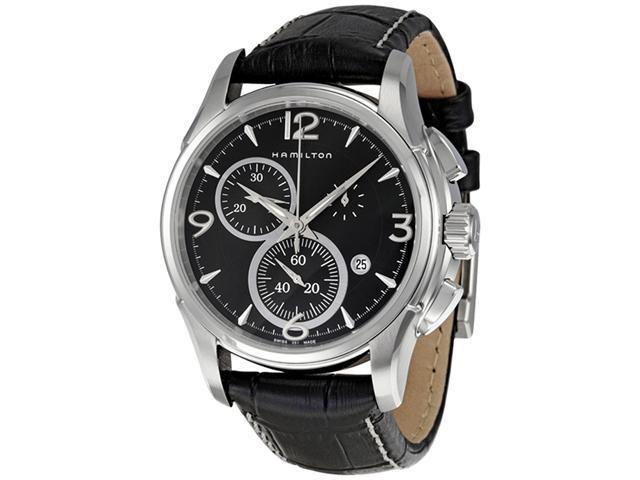 Hamilton Jazzmaster Quartz Chrono Mens Watch H32612735