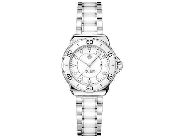 Tag Heuer Formula 1 White Dial Stainless Steel Ladies Watch WAH1315.BA0868