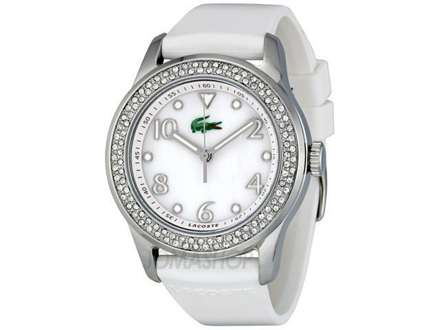 Lacoste Club Collection White Mother-of-Pearl Dial Women's Watch #2000647