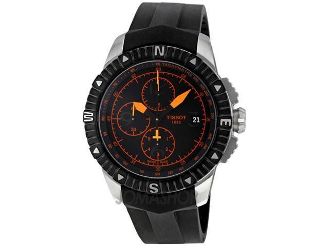 Tissot T-Navigator Automatic Black Dial Steel Mens Watch T0624271705701