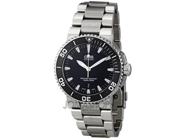 Oris Aquis Date 43 mm Steel Mens Watch 733-7653-4154MB
