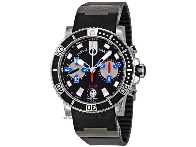 Ulysse Nardin Maxi Marine Automatic Chronograph Mens Watch 8003-102-3-92