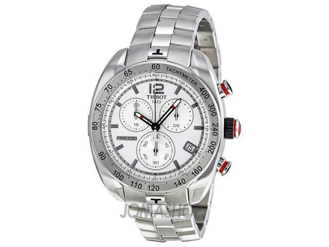 Tissot PRS 330 Chronograph Silver Dial Mens Watch T0764171103700