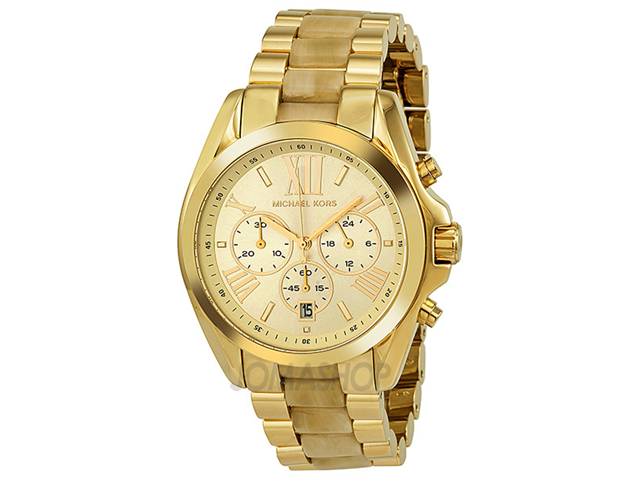 Michael Kors Bradshaw Chronograph Gold-Tone Ladies Watch MK5722