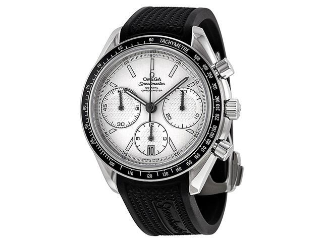 Omega Speedmaster Racing Chronograph Silver Dial Steel Mens Watch 32632405002001