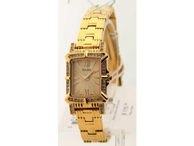 Pulsar Crystal Womens Bracelet Watch PEGD40