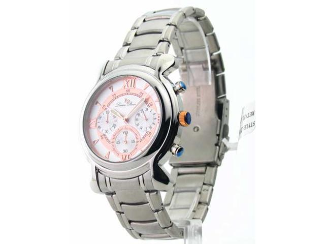 Mens Lucien Piccard Steel Chrono Watch 28167RO