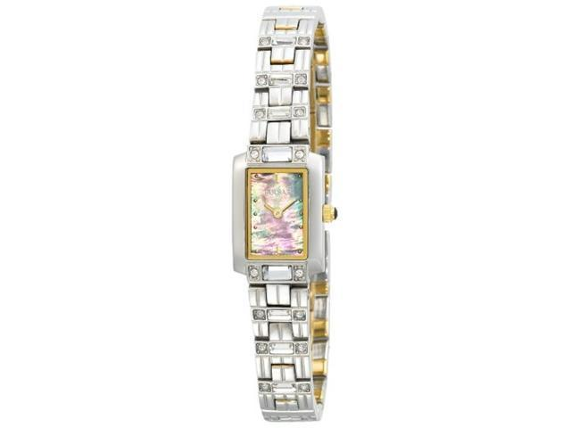 Pulsar Women's PEGD45 Genuine Crystal Accented MOP Watch