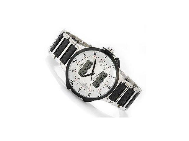 Men's Analog Digital Croton Chronograph Watch CC311223SSDW