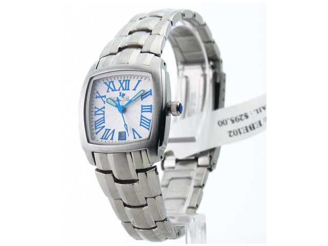 Womens Lucien Piccard Steel Date Watch EBE102