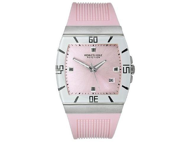 Kenneth Cole Women's Pink Polyurethane Strap watch #KC2465