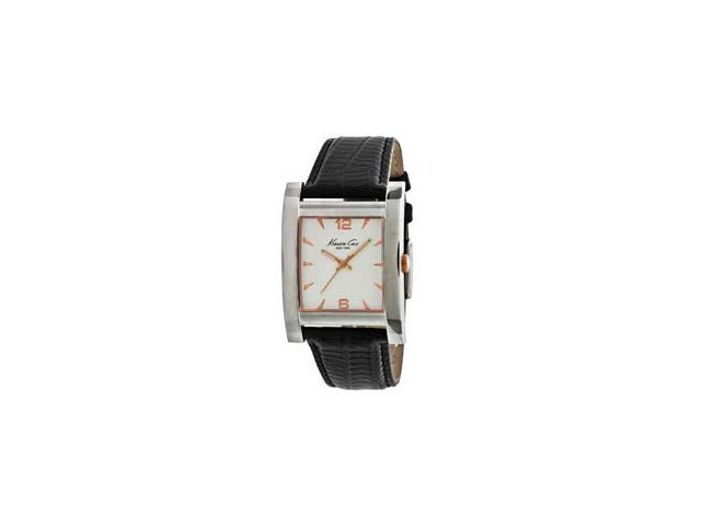 Kenneth Cole New York Leather Collection Silver Dial Men's watch #KC1622