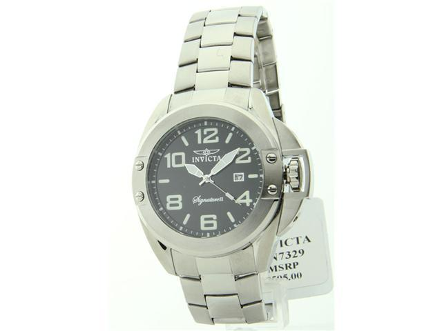 Mens Invicta Stainless Steel Date Bold Watch 7329