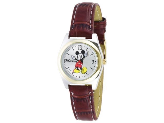 Disney Mickey Mouse Silver Dial Women's watch #MCK613