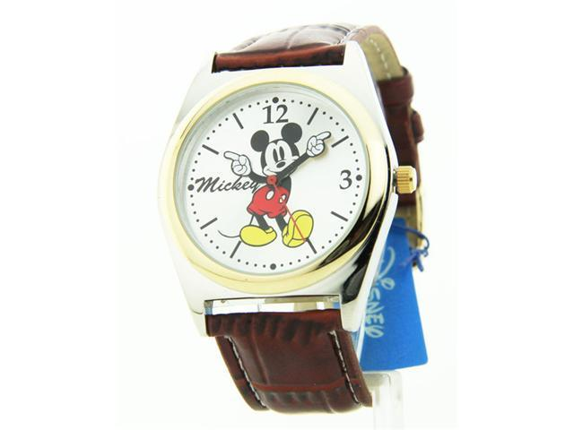 Disney Mickey Mouse Silver Dial Men's watch #MCK623