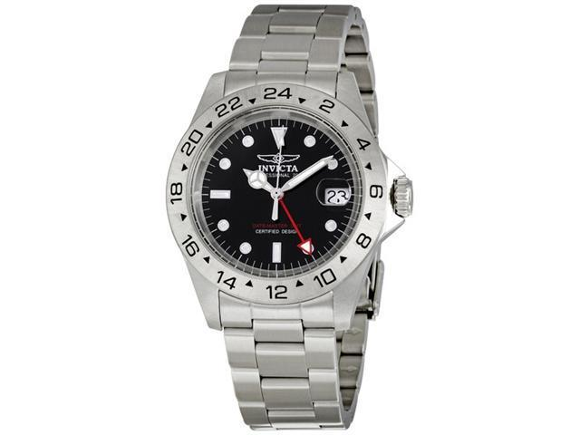 Invicta Men's GMT Dual Time Date Master Professional 200m Divers Watch 2825