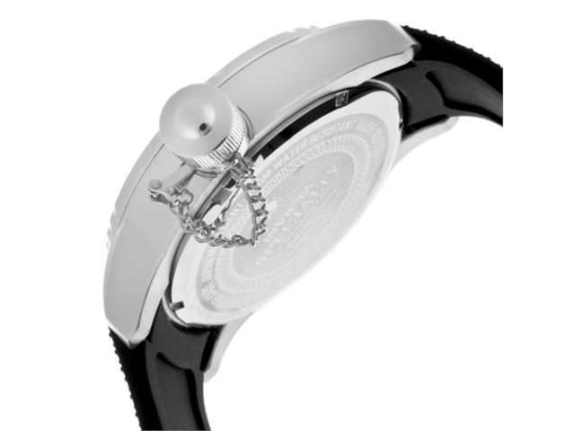 Invicta 1790 Men's Corduba Diver Textured Black Dial Rubber Strap Watch