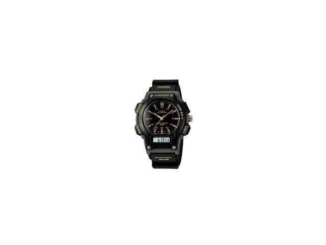 Casio AQ-150W-1EV Men's Analog & Digital Chronograph 100M Combo Sport Watch