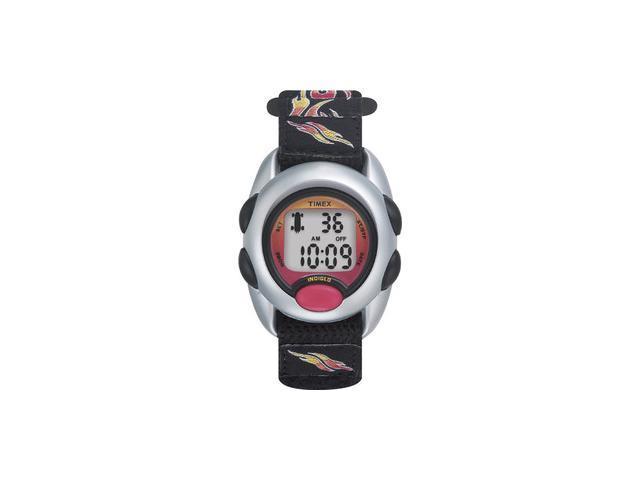 Timex T78751 Kids' Digital Race Fast Wrap Flames Watch