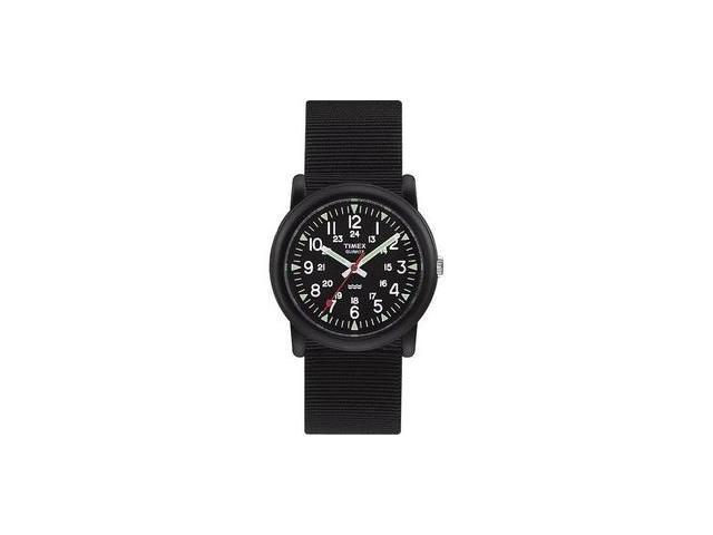 Timex Men's Expedition Camper Black Luminous Hands 24-Hour Time Watch T18581