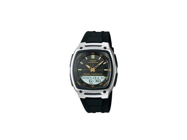 Casio AW81-1A2V World Time Data Bank Mens Watch