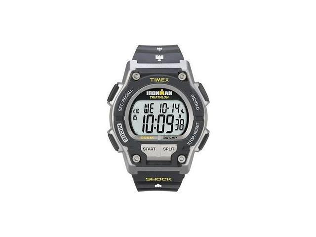 TIMEX  Ironman 30 Lap Shock Watch, Grey