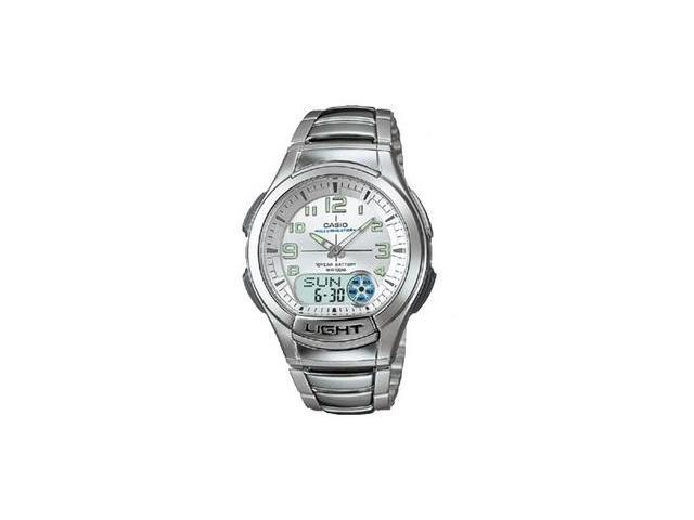 Casio AQ180WD-7BV Mens Analog Digital Watch