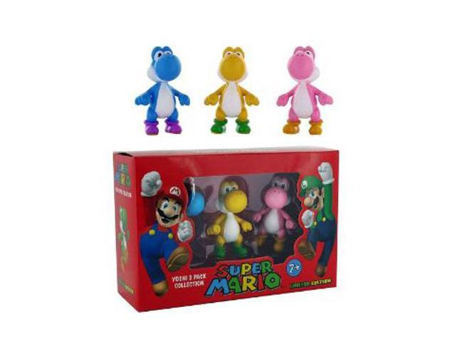 Super Mario Limited Edition Yoshi 3 Pack Collection