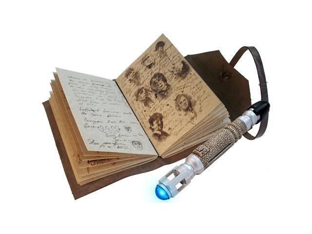 Doctor Who Journal of Impossible Things & Sonic Screwdriver Set