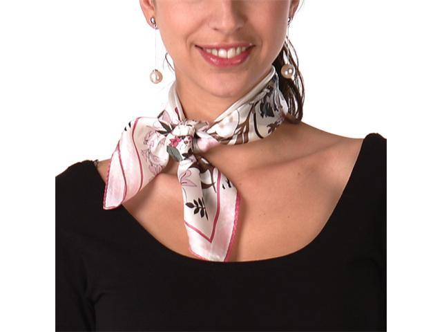 Luxury Lane Women's Pure Silk Square Scarf