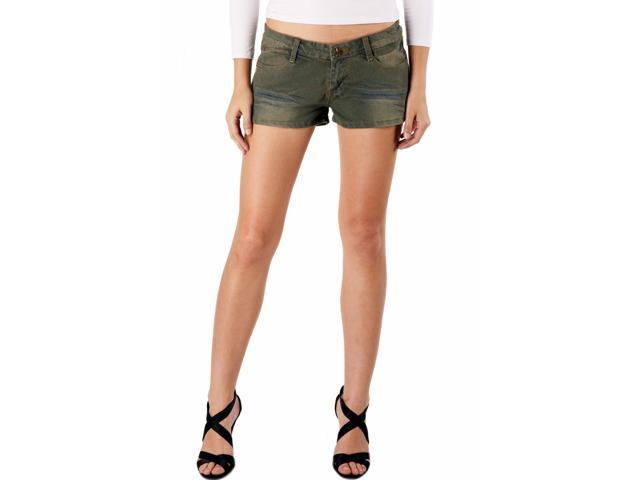 Jessie G. Women's Low Rise Distressed Denim Short Shorts - 10