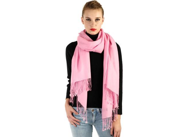 Sandals Cay Women's Kahlo Pink Tissue Weight Pure Cashmere Wrap