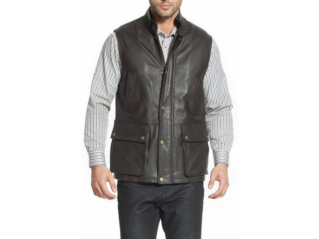 Landing Leathers Men's Goatskin Leather Munitions Vest