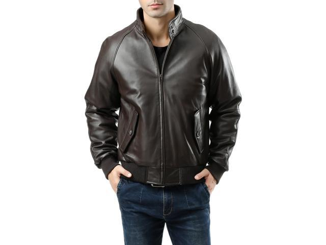 Landing Leathers Men's WWII New Zealand Lambskin Leather Bomber ...