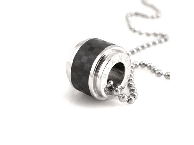 Black Checker Design Barrel