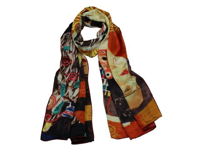 100% Satin Charmeuse Silk Gustav Klimt's