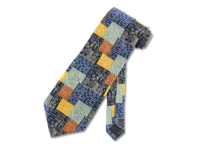 Men's Tie Ancient Drawing Necktie
