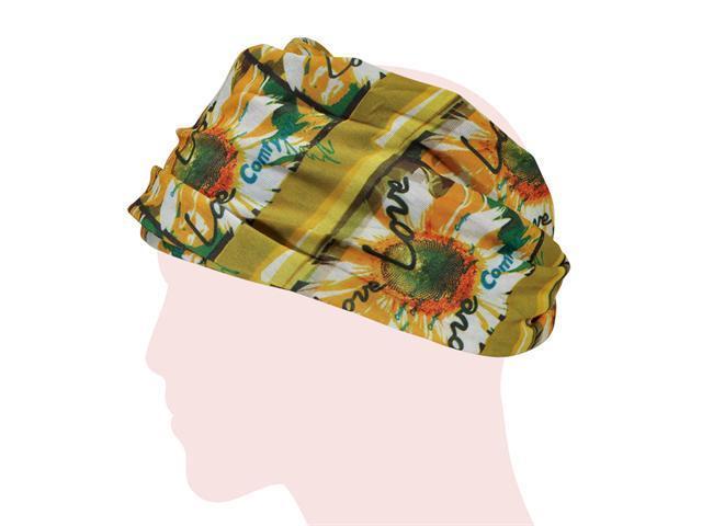 Multi-functional Microfiber Head Wear - Sunflower (Yellow)